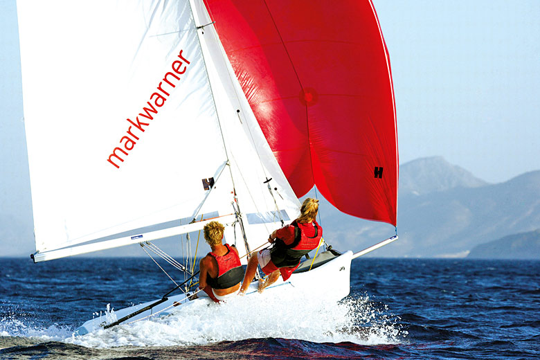 Sailing is the most popular activity on a Mark Warner holiday - photo courtesy of Mark Warner