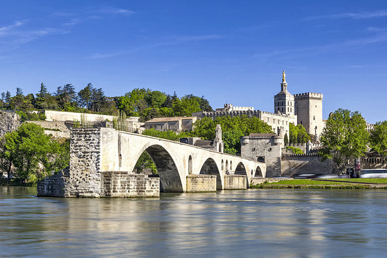 What remains of the famous St Benezet bridge in Avignon © Laforet Aurélien - Adobe Stock Image