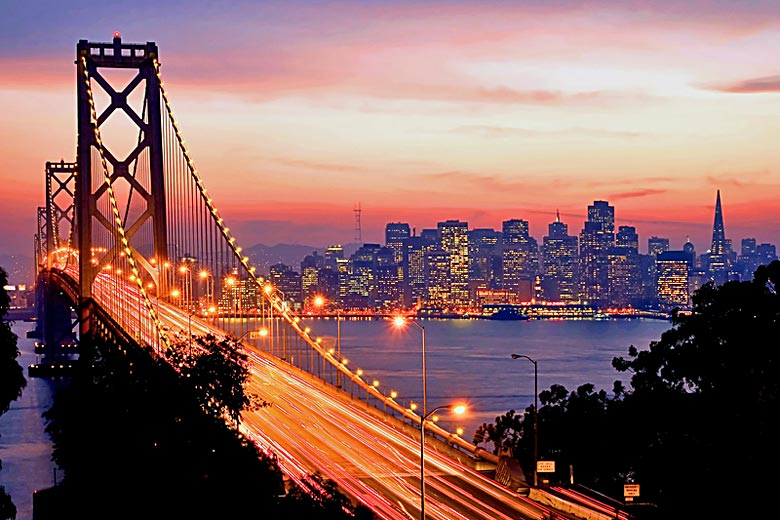 San Francisco after dark © Photoquest - Dreamstime.com