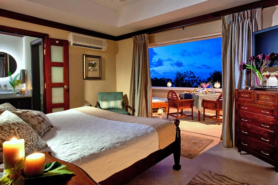 Sandals Regency La Toc, ocean view room with sun deck - photo courtesy of Sandals Resorts