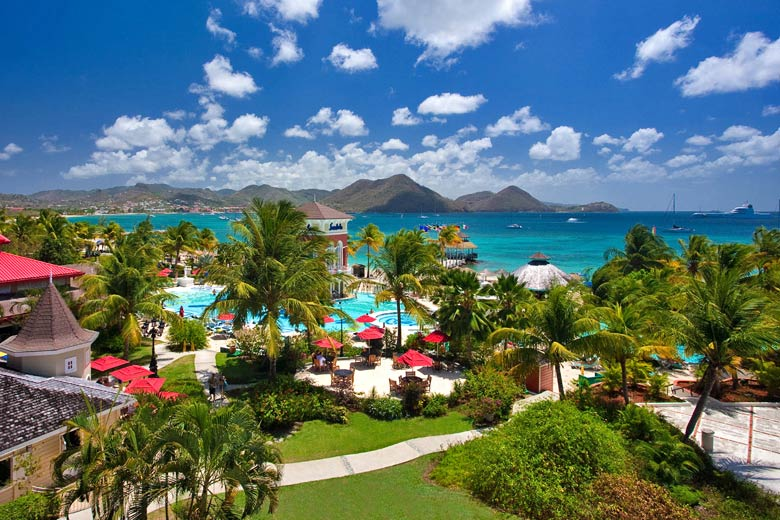 Sandals Grande St Lucian, St Lucia weather - photo courtesy of Sandals