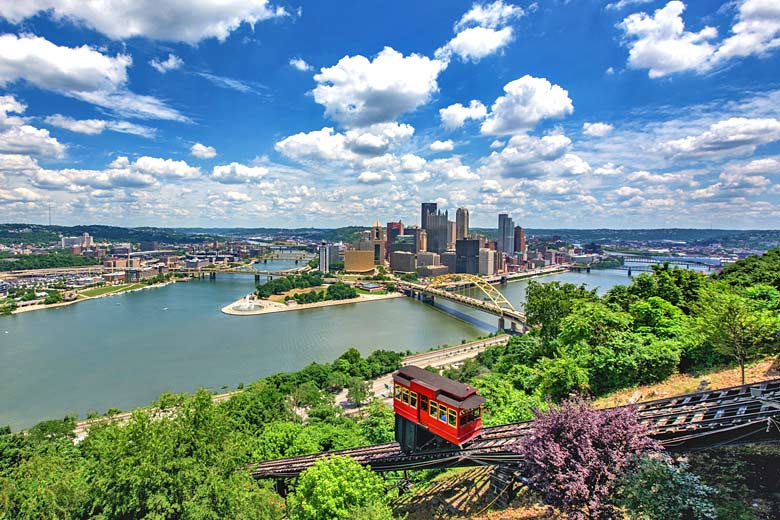 The scenic skyline of Pittsburgh, USA © Dave DiCello - courtesy of Visit Pittsburgh