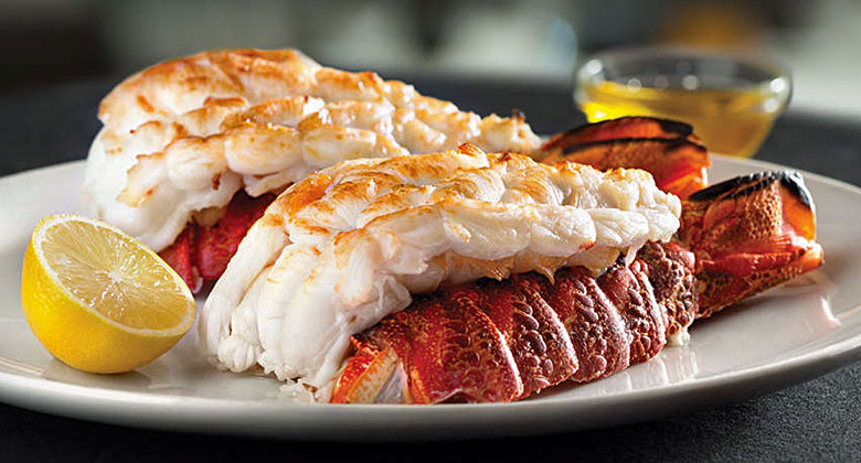 Lobster tails as served by Eddie V's - photo courtesy of www.eddiev.com