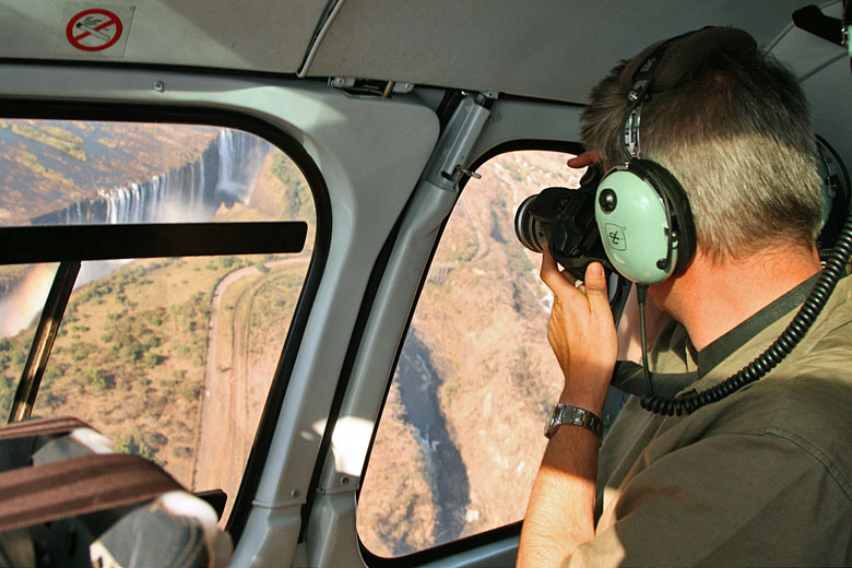 See Victoria Falls from above © Janet Hughes - Flickr Creative Commons