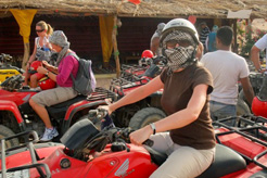 Quad biking in Sharm el Sheikh, Egypt