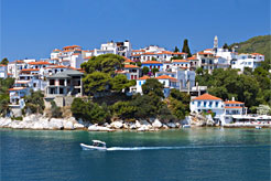 Beyond the beaches of Skiathos