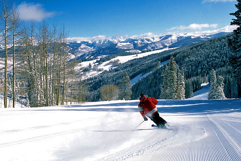 Skiing at Beaver Creek in the Vail Valley, Colorado © Jeff Affleck - courtesy of the Vail Valley Partnership
