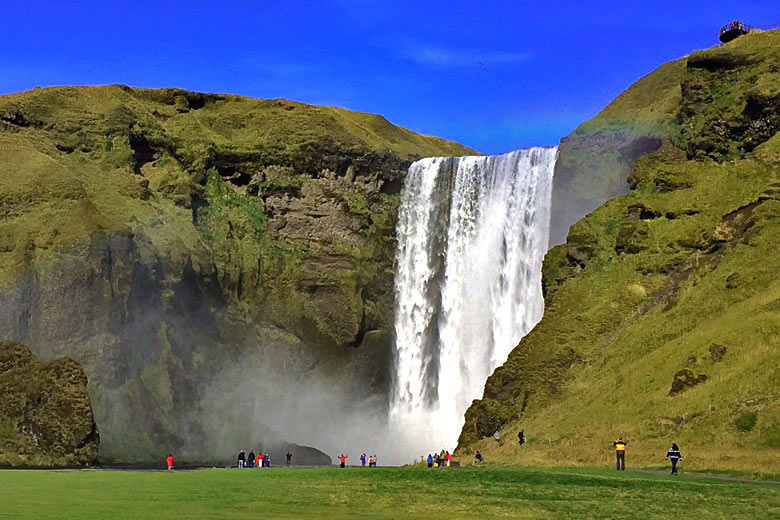 Visit the Skogafoss Waterfall, Iceland © Sykes - Flickr Creative Commons