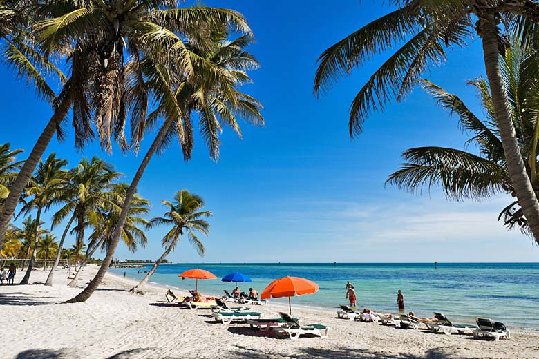 Smathers Beach, Key West, Florida Keys © Ian Dagnall - Alamy Stock Photo