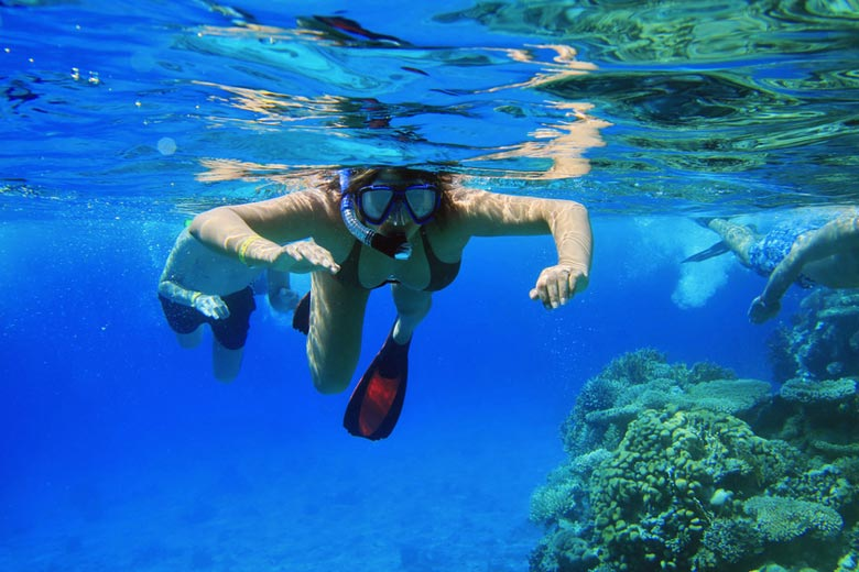 Snorkelling in the Red Sea © Patryk Kosmider - Fotolia.com