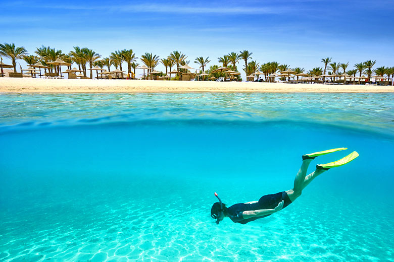Snorkelling in the clear waters of Marsa Alam, Egypt © John Walker1 - Fotolia.com