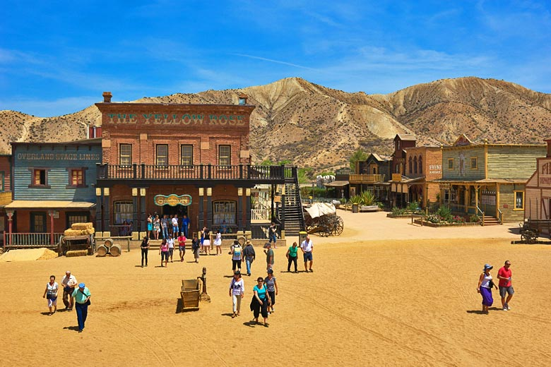 Spaghetti Western film set just outside Almería, Spain © Jam World Images - Alamy Stock Photo