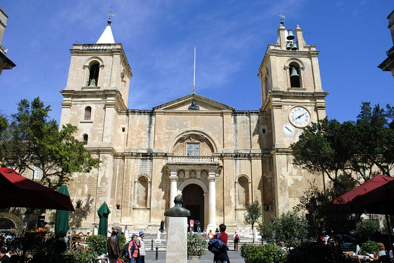 St John's Co-Cathedral, a baroque masterpiece - photo courtesy of www.viewingmalta.com