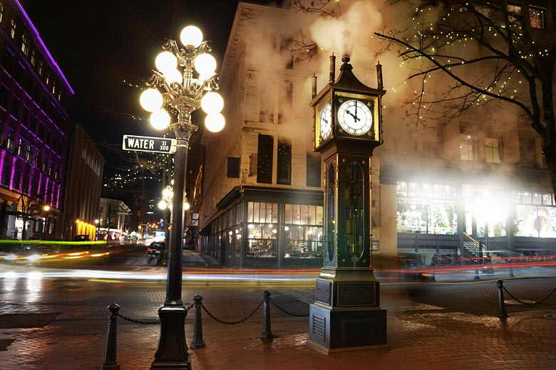 The steam powered clock in Gastown, Vancouver, British Columbia © Sinidex - Fotolia.com