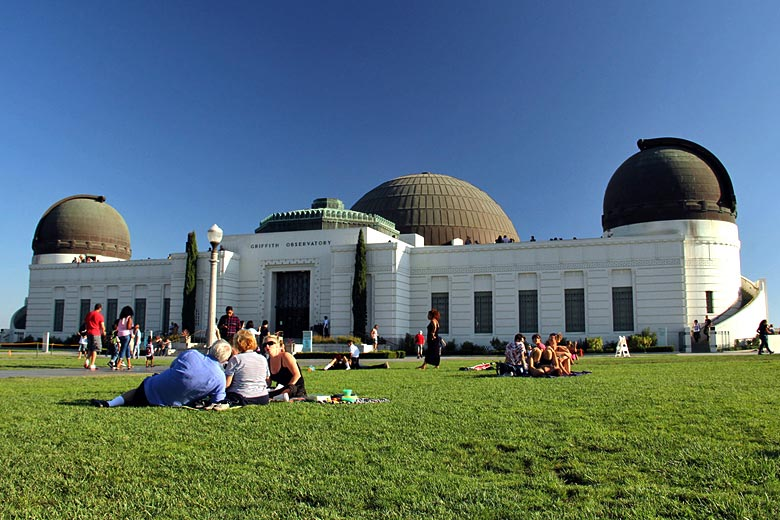 Stunning architecture of the Griffith Observatory, LA © Ana Paula Hirama - Flickr Creative Commons