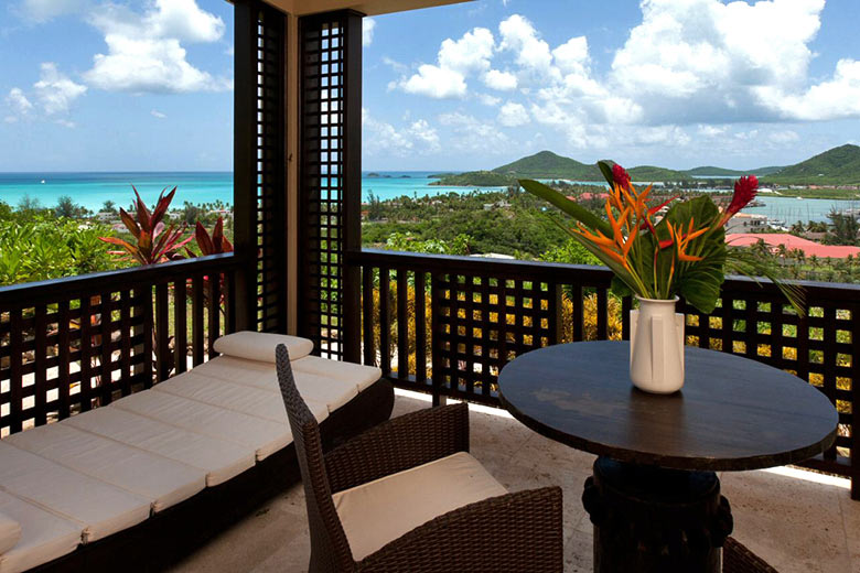 The view from Sugar Ridge Antigua - photo courtesy of Sugar Ridge Resort