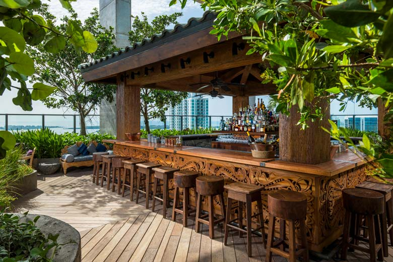 Sugar rooftop bar and garden, 40th floor EAST Miami - photo courtesy of Swire Hotels