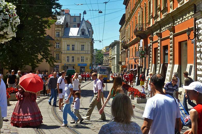 Summer's day in Lviv, Ukraine © Erik Cleves Kristensen - Flickr Creative Commons