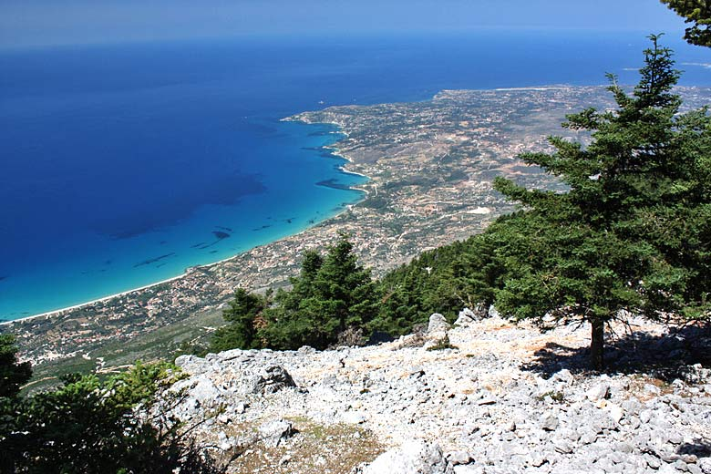View from the summit of Mount Aenos, Kefalonia ©  Papapiper - Flickr Creative Commons