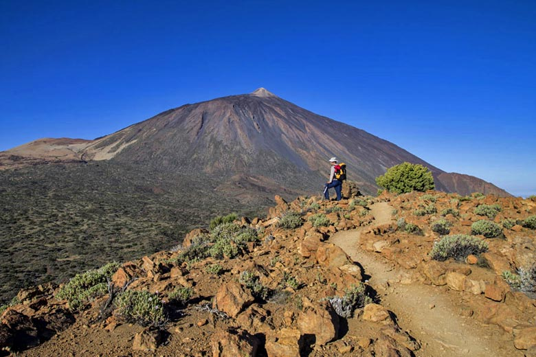 View of the summit of Mount Teide, Tenerife - photo courtesy of Tenerife Tourism Corporation