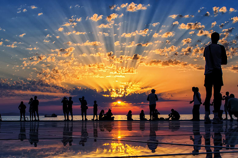 Sunsets in Zadar are legendary © Aleksandar Gospic - courtesy Croatia National Tourist Board