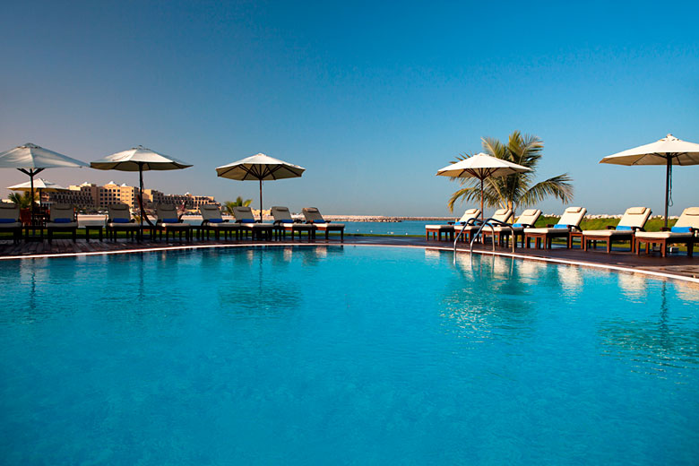 One of the many pools at the Hilton Ras Al Khaimah Resort, UAE © 2016 Hilton Hotels & Resorts
