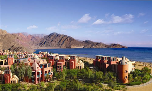 Taba Heights Hyatt Regency Hotel courtesy Egyptian Tourist Authority