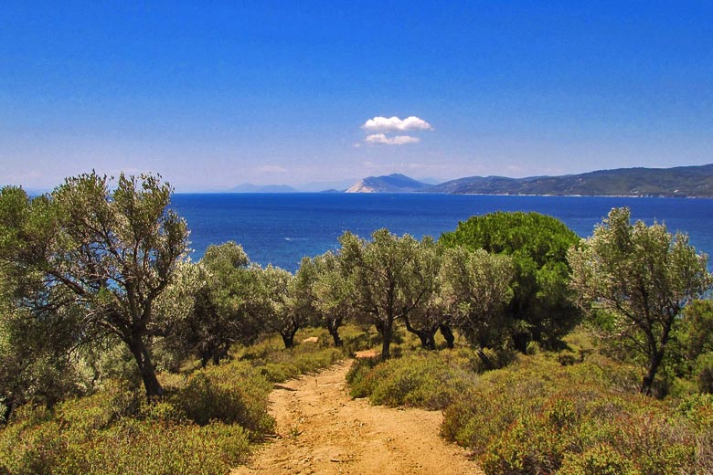 The other side to Skiathos, Greece - photo courtesy of Pixabay