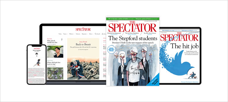 Compare print & digital subscriptions to The Spectator