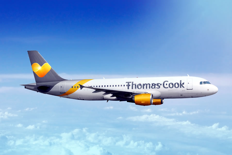 Thomas Cook Airlines A320 aircraft © Thomas Cook