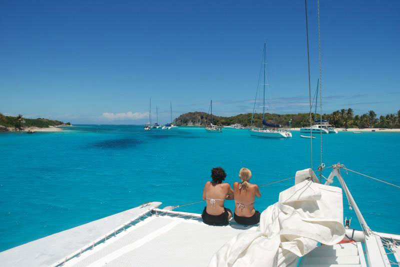 Tobago Cays - photo courtesy of St. Vincent & The Grenadines Tourism Authority
