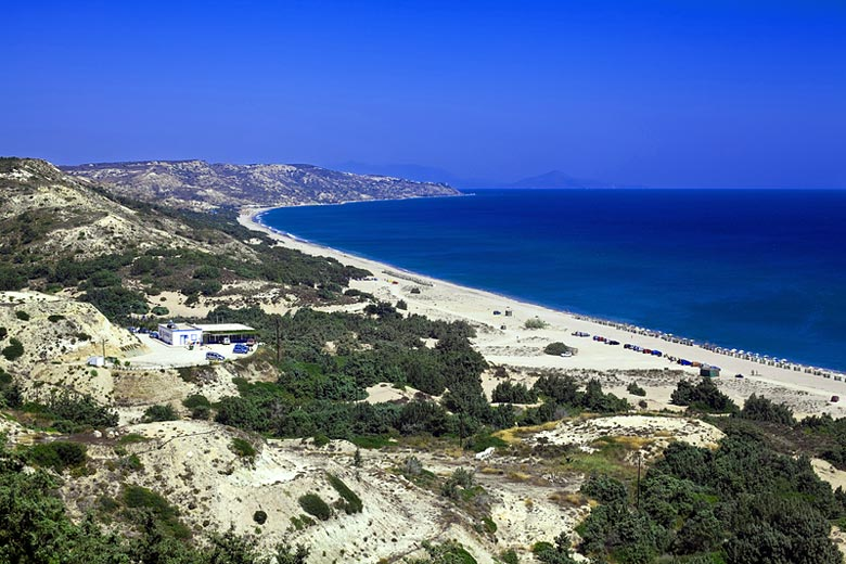 Top beaches in Kos, Greece © Anna Lurye - Dreamstime