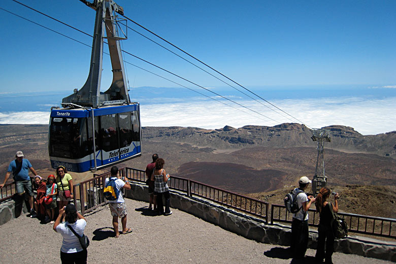 Top of the cable car on Mt Teide, Tenerife © excitingextravaganza - Flickr Creative Commons