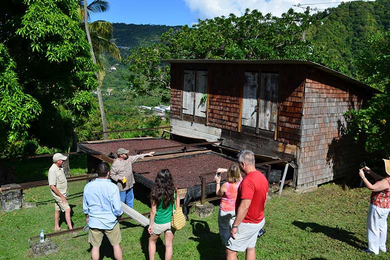 Tour of the Emerald Estate at Anse Chastanet, St Lucia - photo courtesy of Anse Chastanet Resort