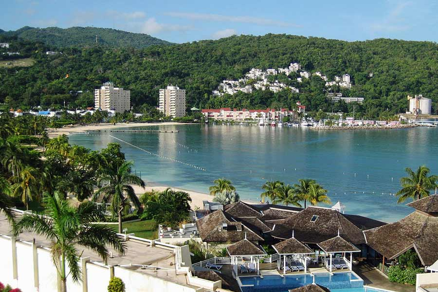 Town of Ocho Rios, Jamaica  © Patricia Edwards - Wikimedia Commons