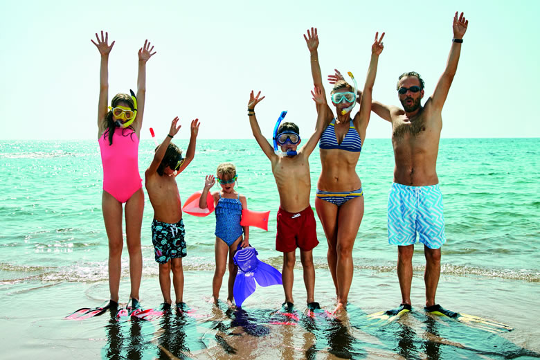 Family holidays from TUI with free child places © TUI Group