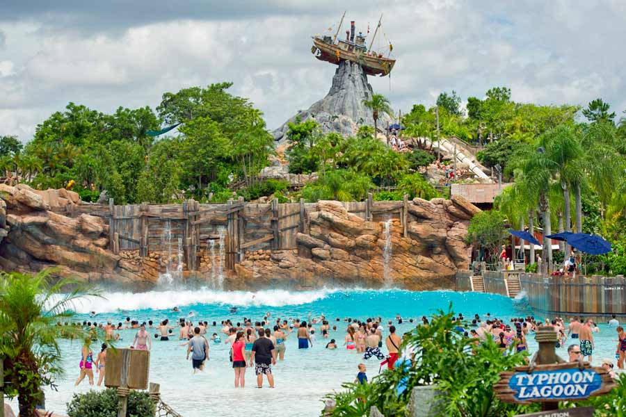 Typhoon Lagoon at Walt Disney World - photo courtesy of Walt Disney World