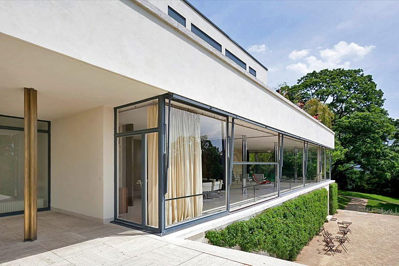 Discover the UNESCO site of Villa Tugendhat - photo courtesy of 'Go to Brno'