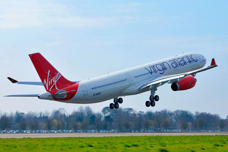 Virgin Flight Taking Off © Virgin Atlantic
