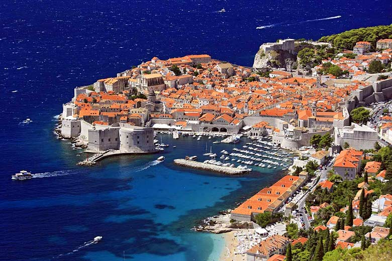 The old walled city of Dubrovnik, Croatia - photo courtesy of Croatian National Tourist Board