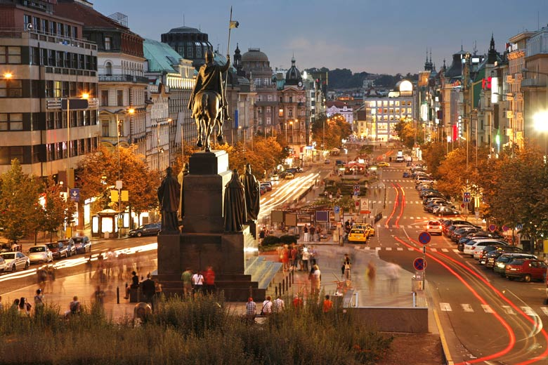 Wenceslas Square, Prague © Bikeworldtravel - Fotolia.com