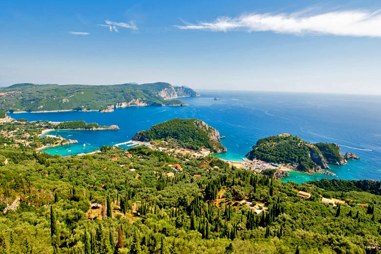 Bay on the west coast of Corfu, Greece © Lornet - Fotolia.com