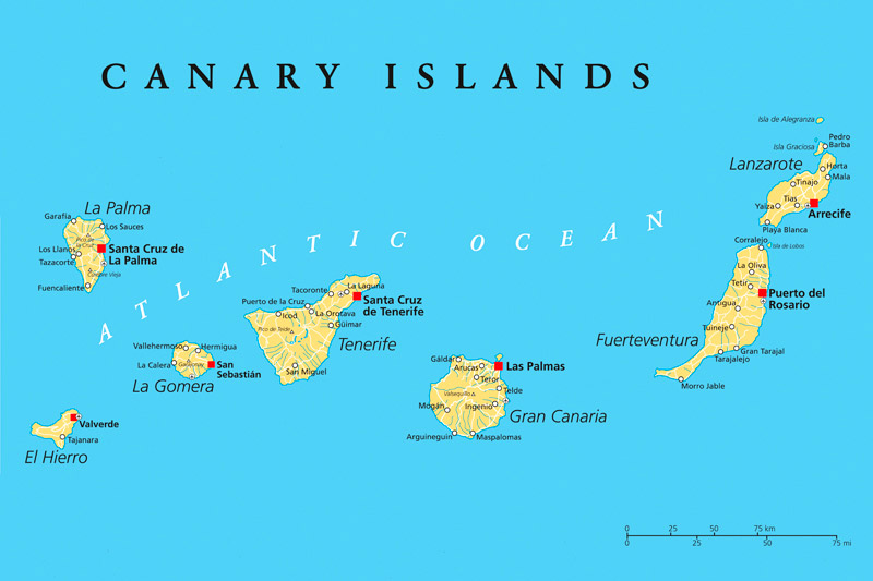 Which Canary Island is right for you? © Peter Hermes Furian - Fotolia.com