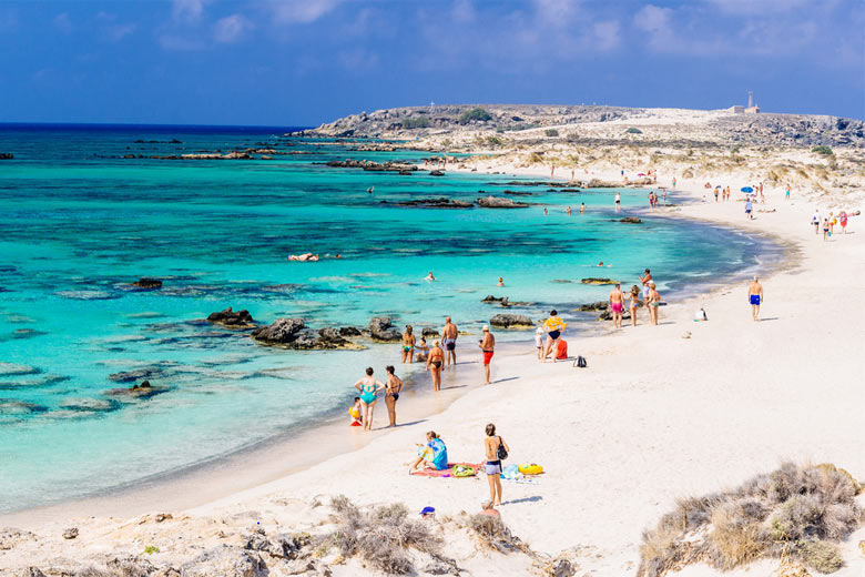 Elafonissi Beach Crete, famous for its white sand © Aetherial - Fotolia.com