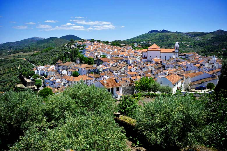The whitewashed town of Castelo de Vide, Alentejo, Portugal - photo courtesy of Visit Portugal