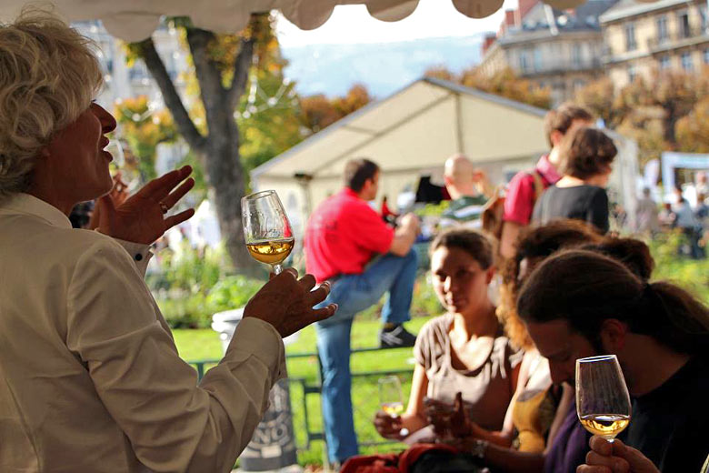 Wine and classical music mingle at Le Millésime Festival each October - photo courtesy of Grenoble Tourism Office