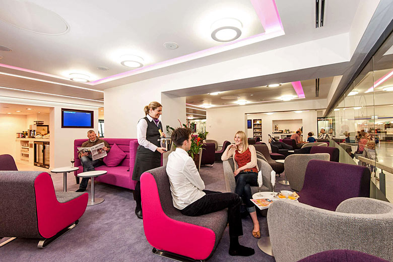 The Yorkshire Premier Lounge at Leeds Bradford - photo courtesy of Leeds Bradford Airport