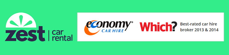 Zest Car Rental: Which? best-rated car hire broker 2013 and 2014