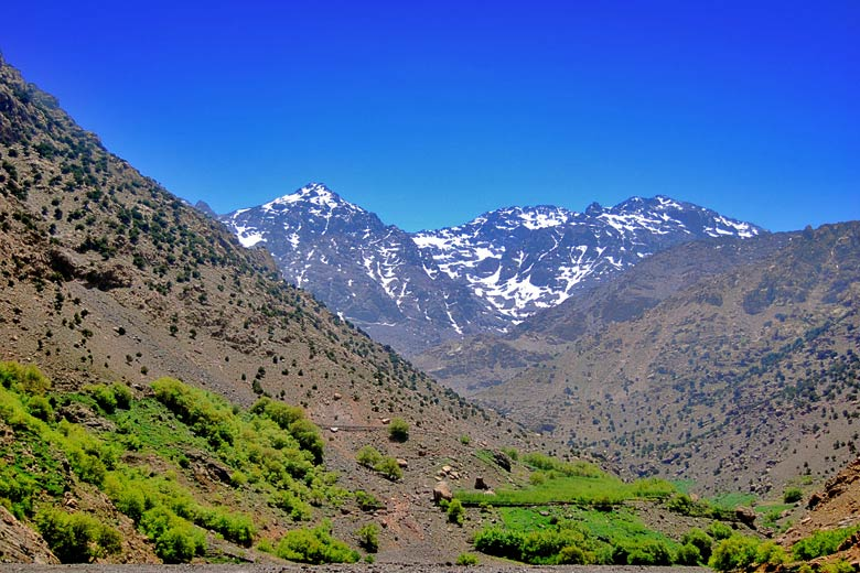 Atlas Mountains in Morocco in April © Olivier Poncelet - Fotolia.com