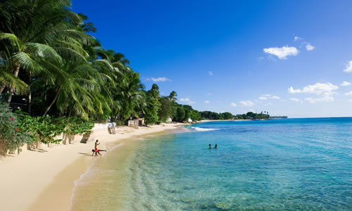 Barbados Weather on a west coast beach © Mike Toy courtesy of Barbados Tourism Authority